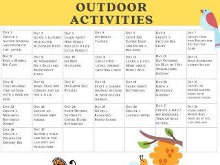 outdoor activity calendar