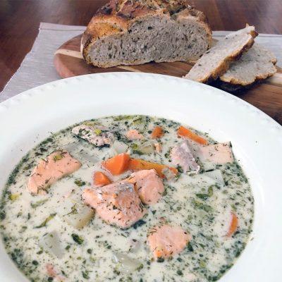 Easy Finnish Salmon Soup Recipe