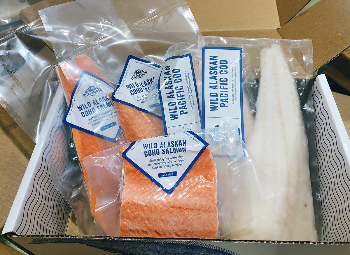 Sitka Salmon box