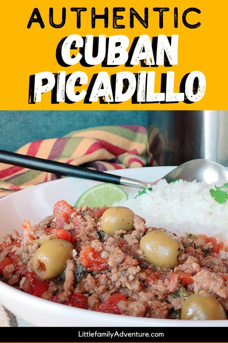 picadillo and rice