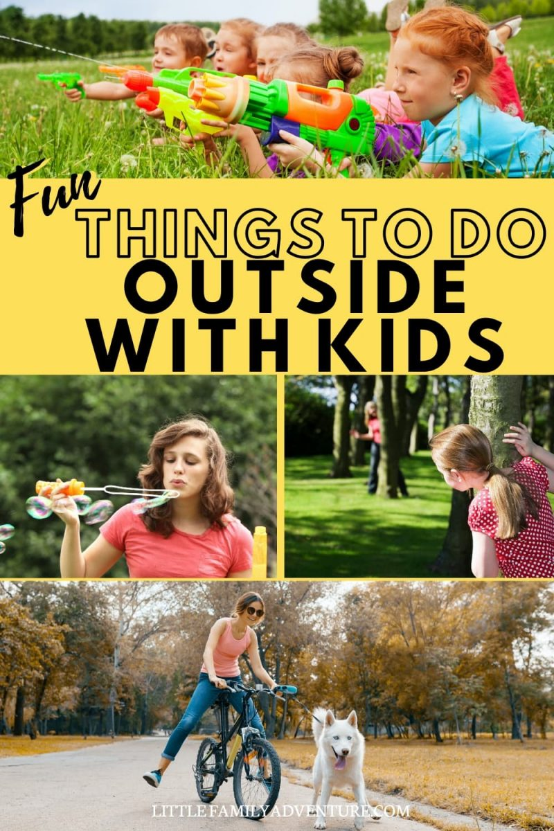 fun things to do with kids graphic