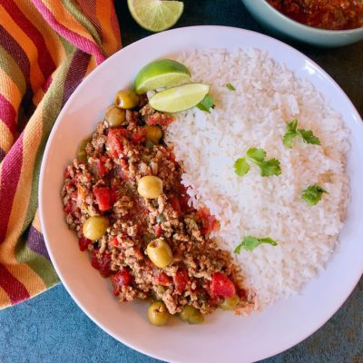 Easy Cuban Beef Picadillo Recipe