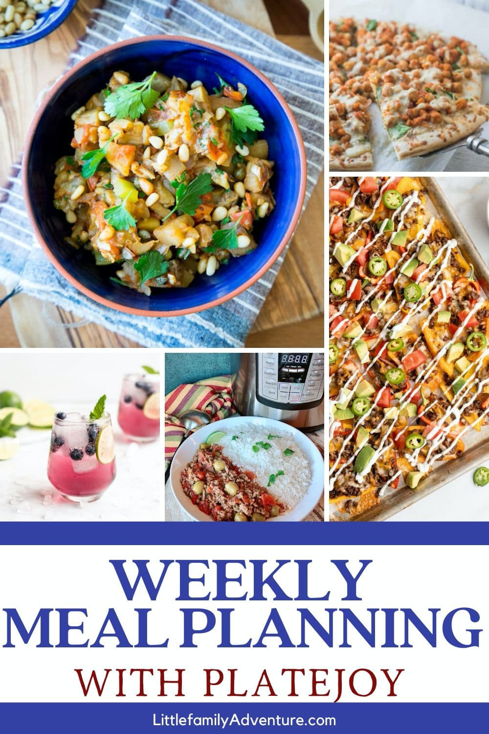weekly meal planning made easier with Platejoy