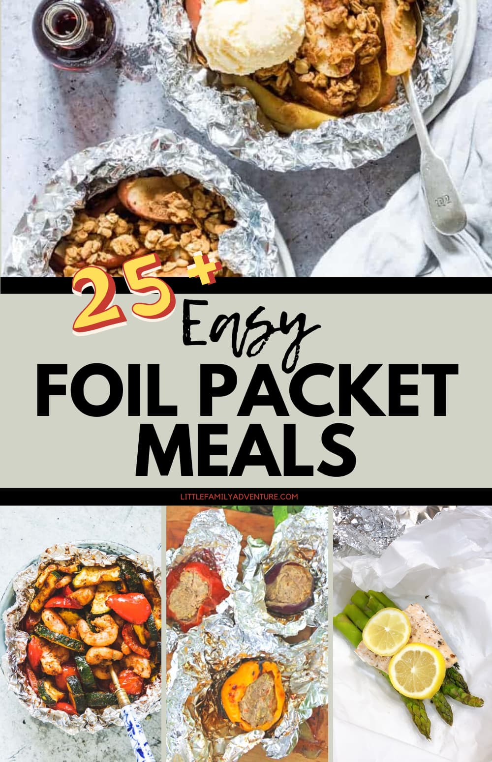 foil packet meals graphic