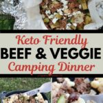 ground beef foil pack dinner for camping