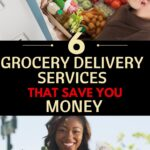 grocery delivery services graphic