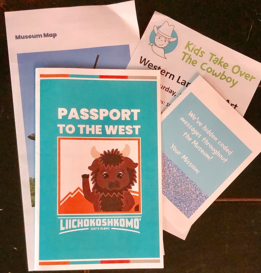 passport to the west and museum guides