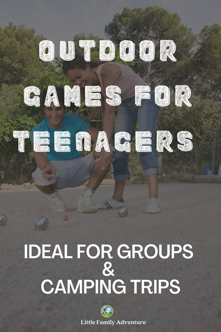 outdoor games with teens
