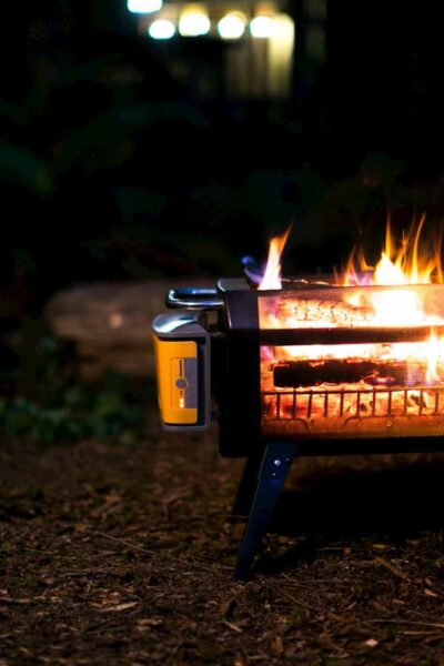 see thru floating campfire