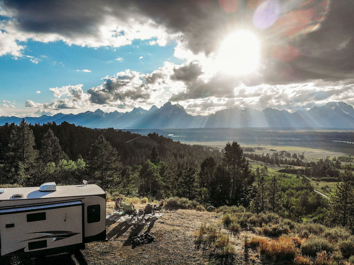 RVing in the Grand Tetons