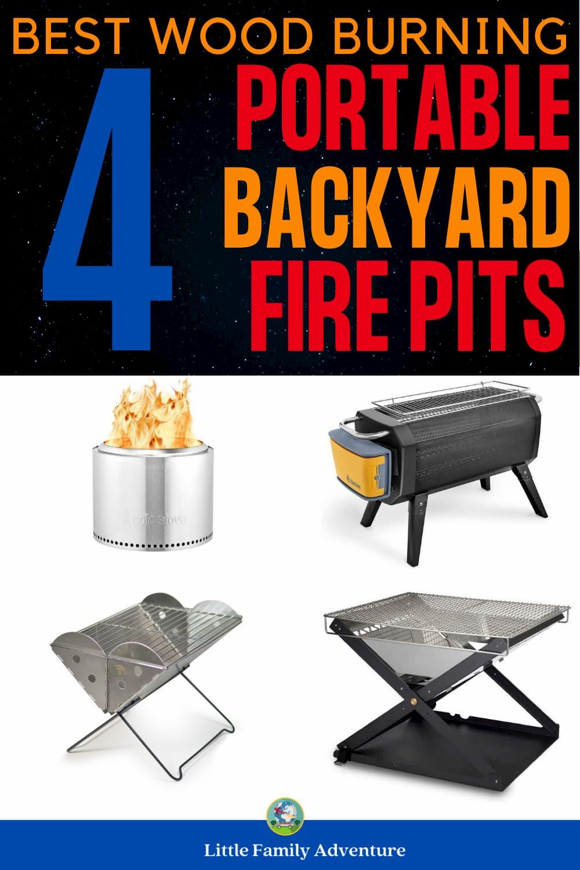 portable backyard firepits