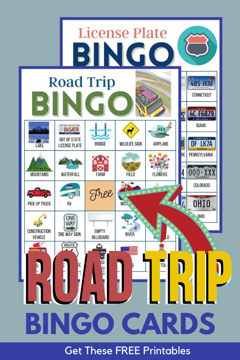 car bingo cards