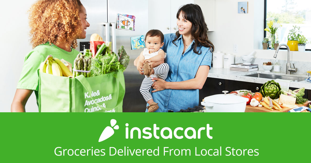 Sign up for Instacart and get your groceries delivered to your doorstep same-day.
