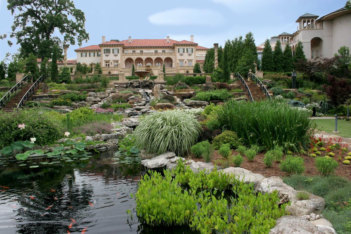 Philbrook museum and gardens