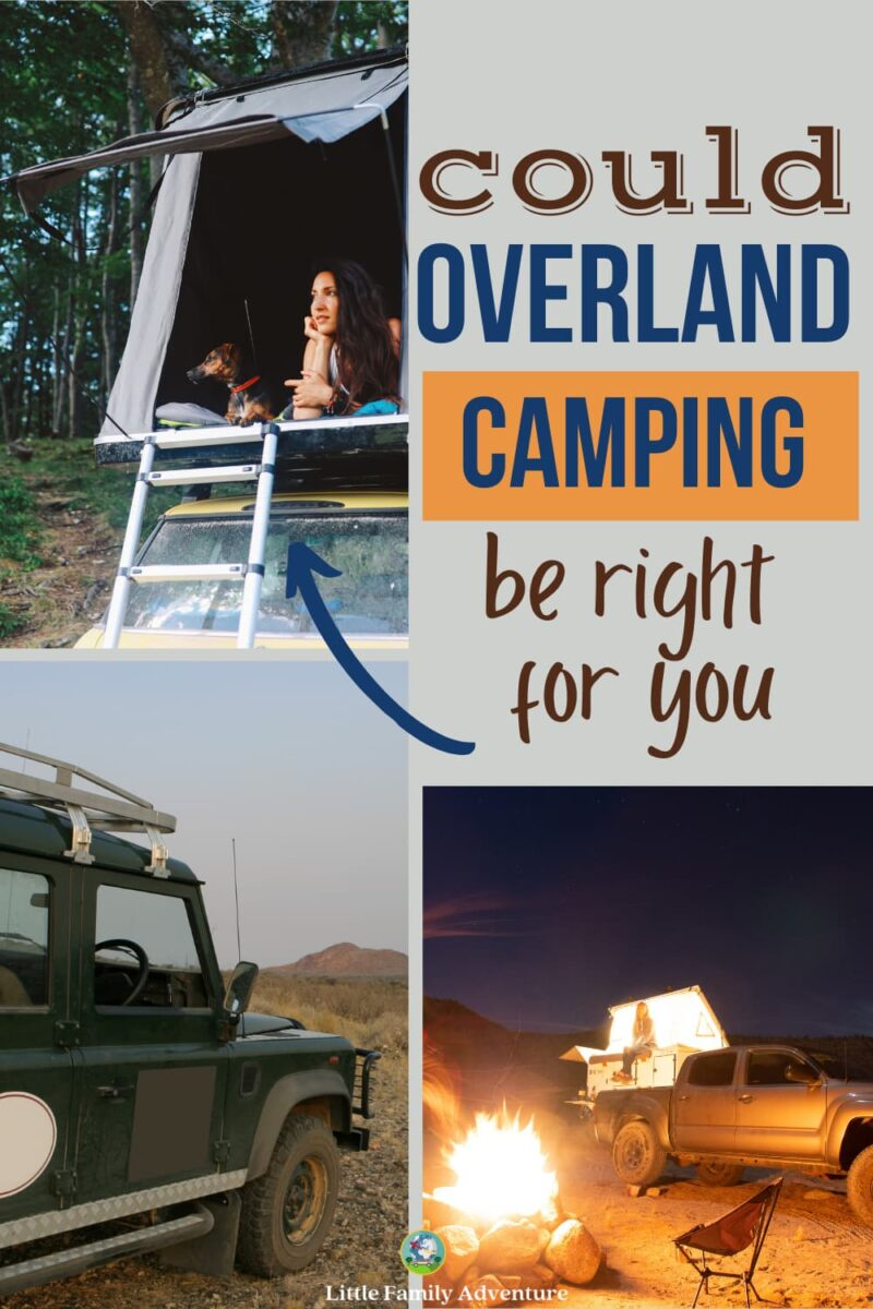 overland camping pictures