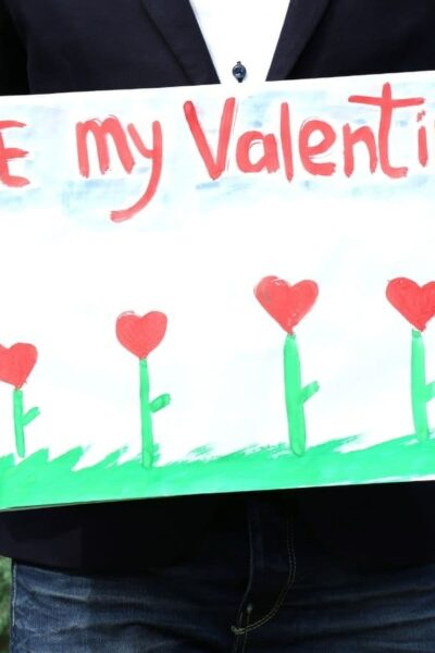 be my valentine sign