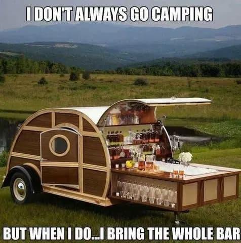 teardrop trailer bar