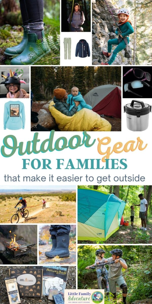 outdoor gear for families