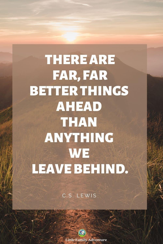 mounatin path -camping quote