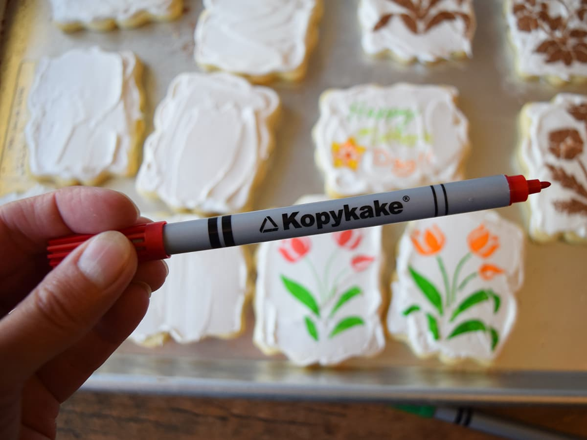 edible cookie decorating pencil