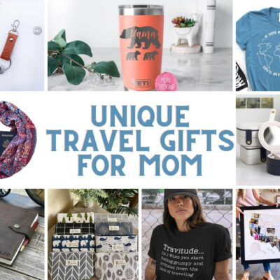 Unique Travel Gifts for Mom All Found on Etsy