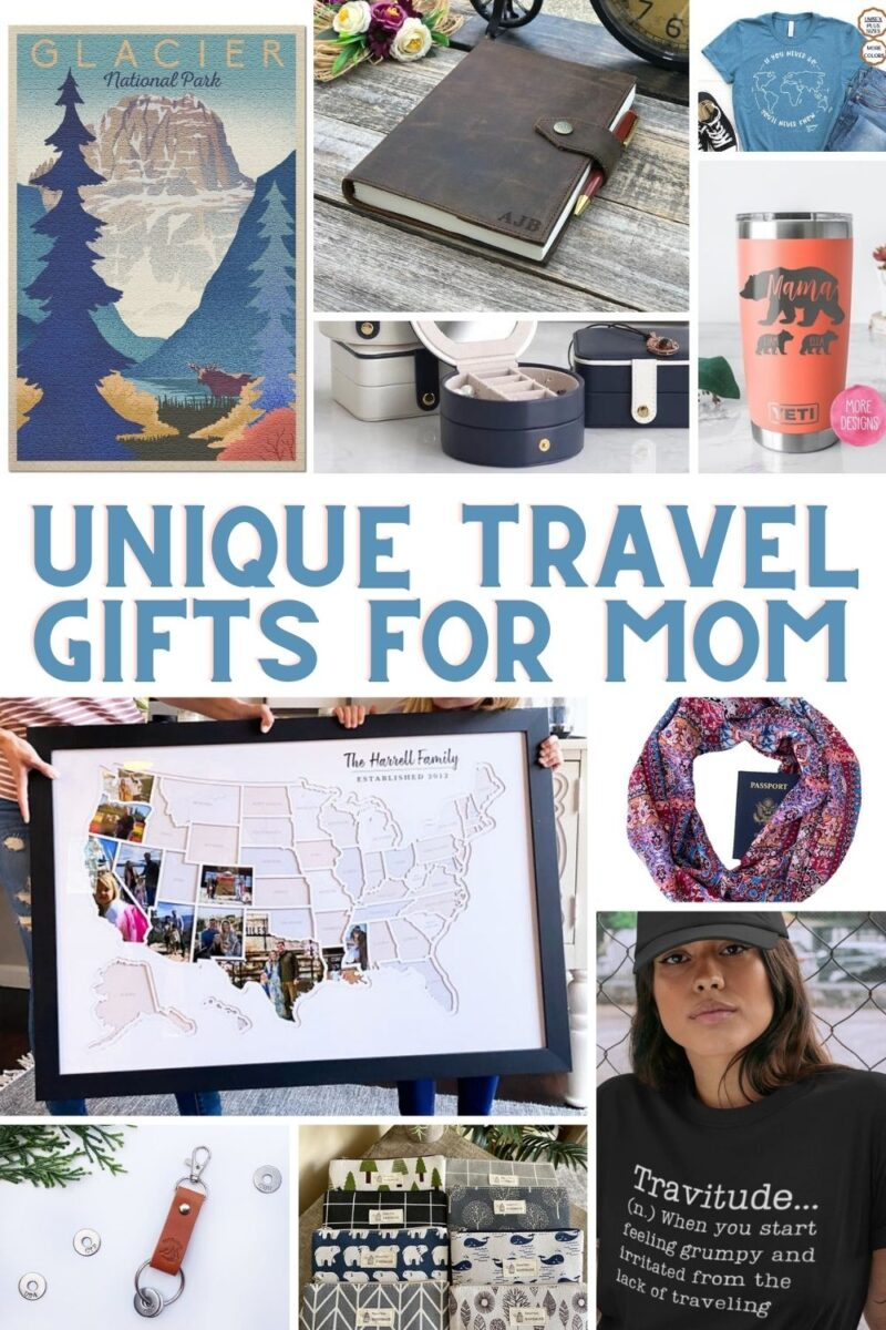 travel gifts collage