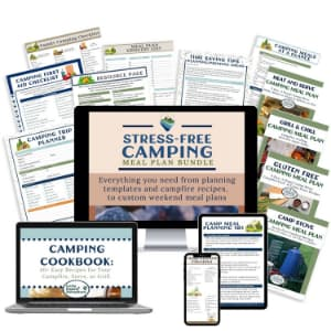 camp meal planning kit