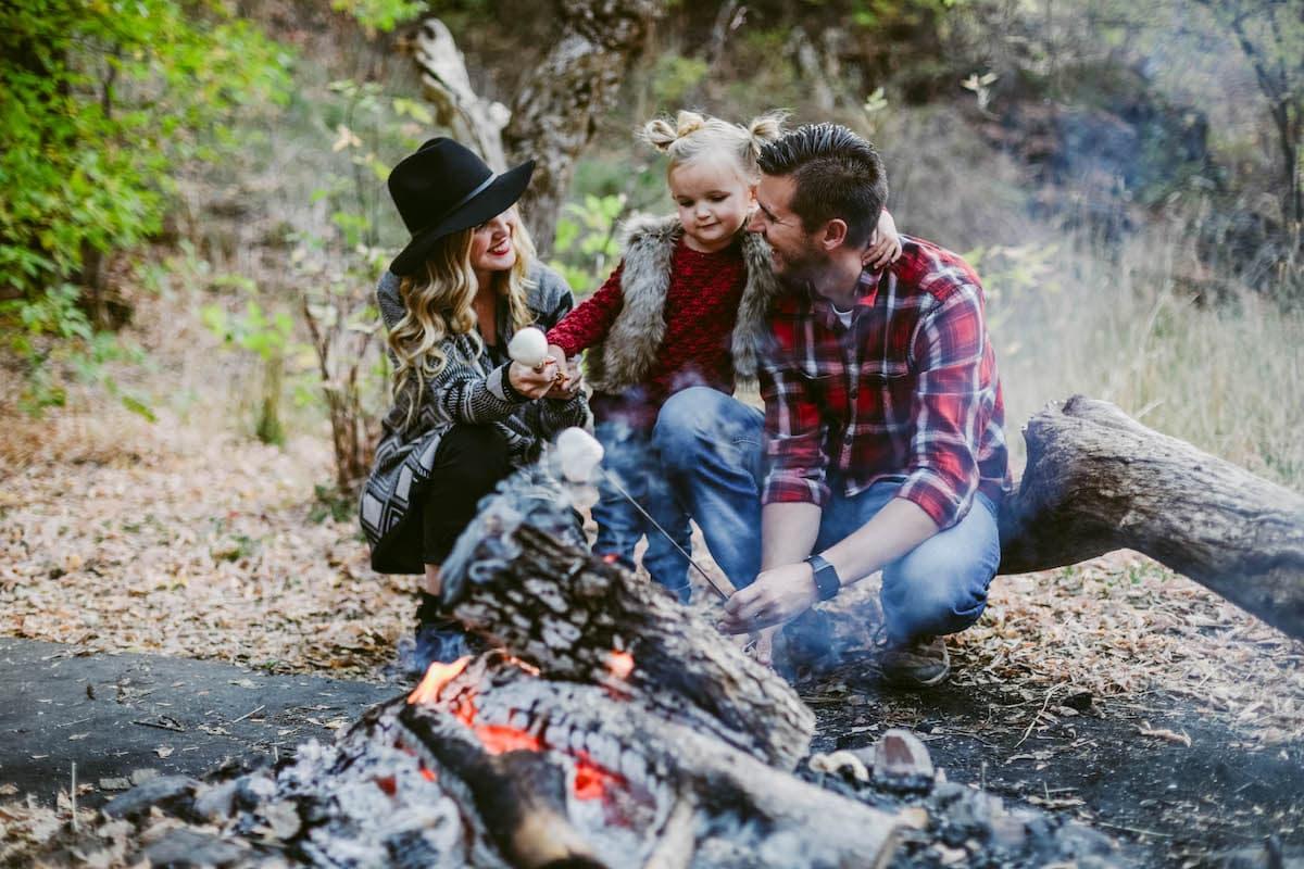 family campfire