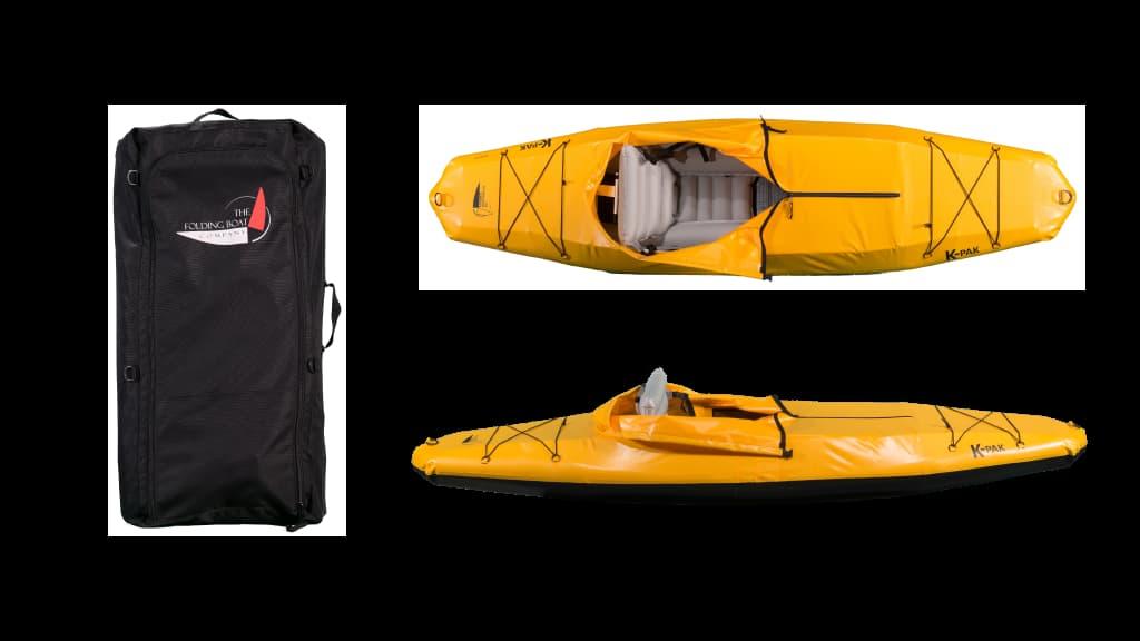 folding kayak and bag