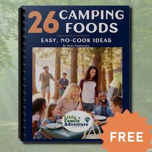 no cook camping ideas