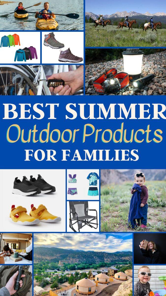 summer outdoor gear