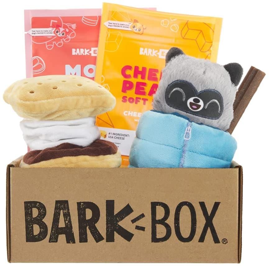 bark box dog toys