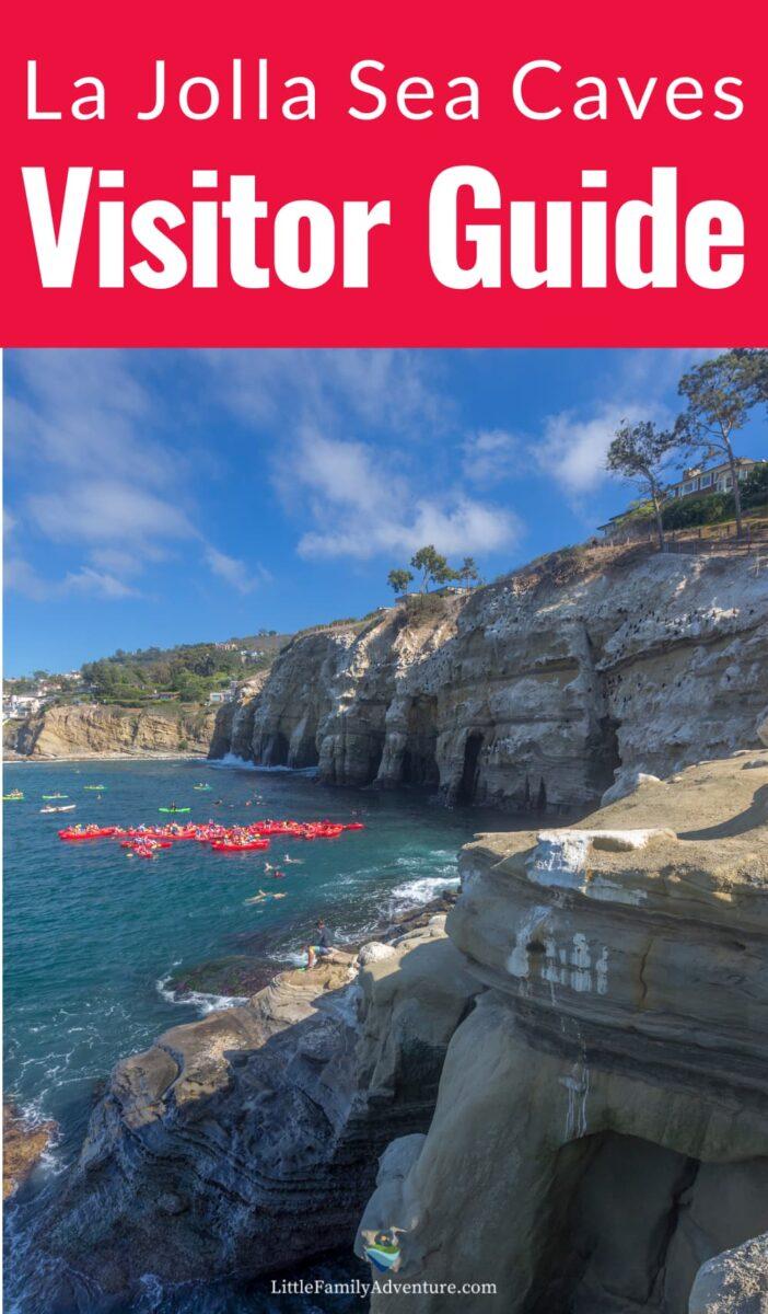 sea kayaker La Jolla cliffs