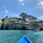 Seven caves La Jolla from kayak