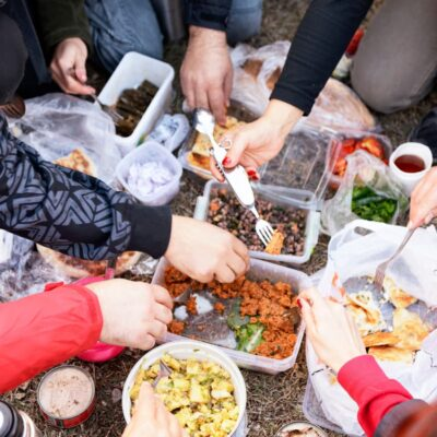 59 Camping Food Ideas- No Cooking Required for Breakfast, Lunch, Dinner & Dessert