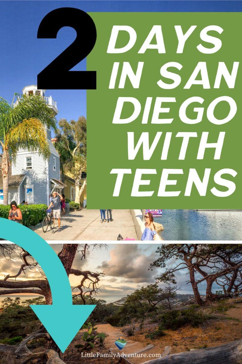 san diego with teens