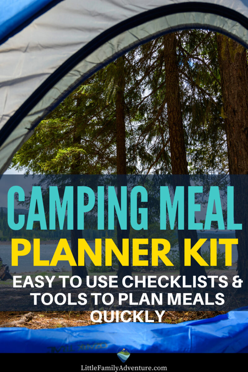 camp meal planner