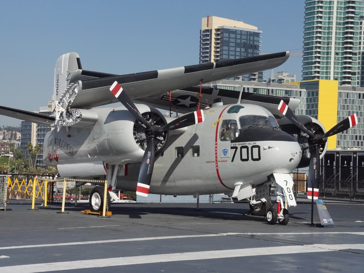 helicopter USS Midway Museum