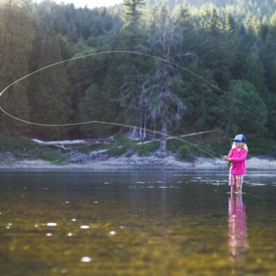 7 Great Family Fly Fishing Destinations in the US to Take the Kids