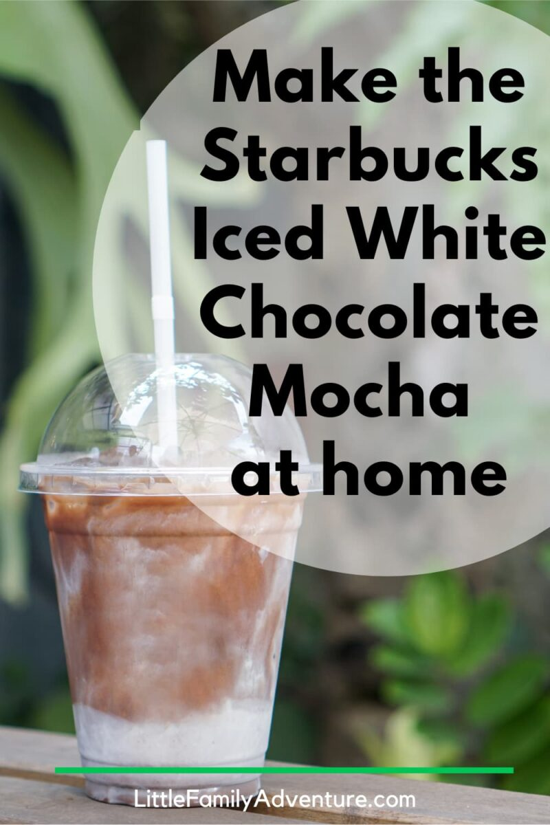 iced white mocha from starbucks made at home