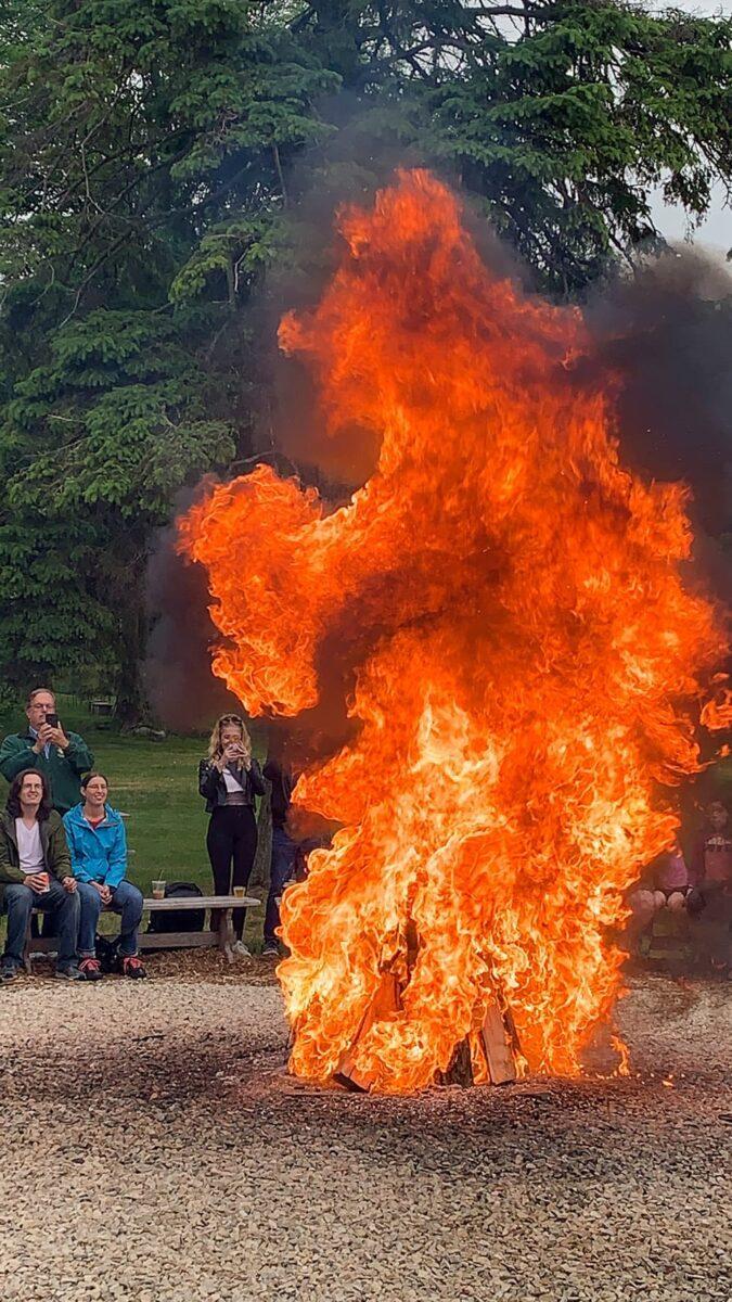 kerosene fireball