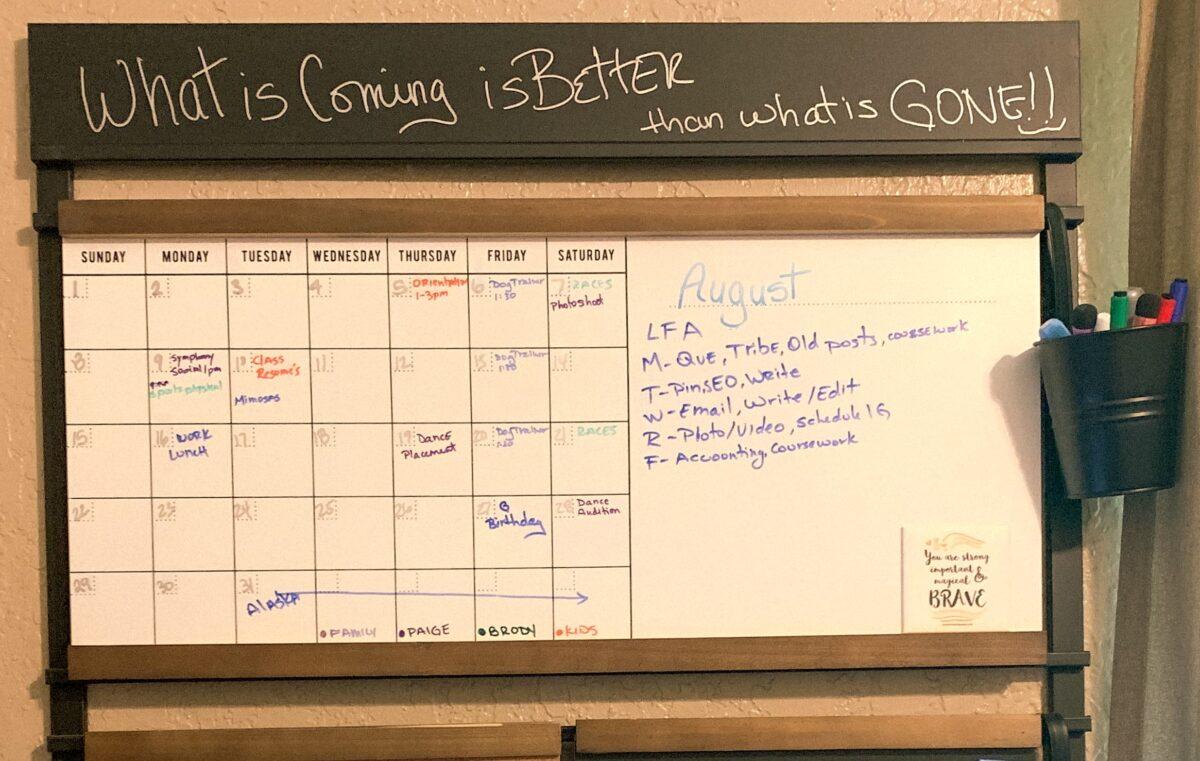month at a glance calendar