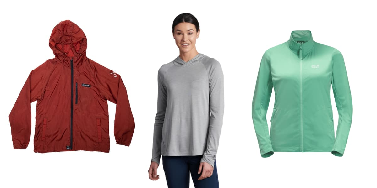 hiking clothes jackets