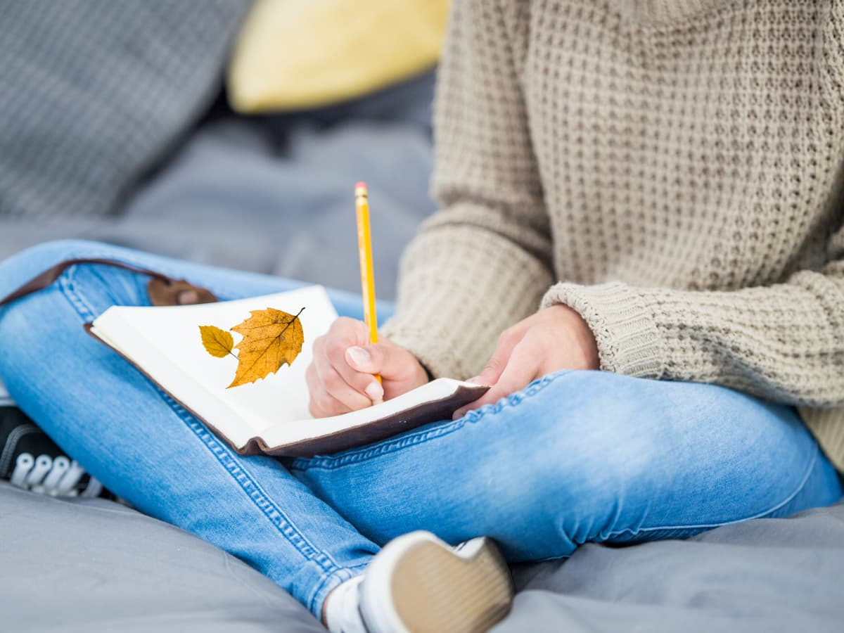 teen nature journaling